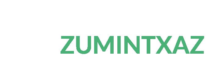 logotipo agroturismo Zumintxaz blanco